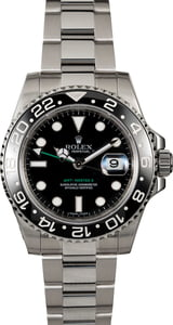 Pre Owned Rolex GMT-Master II Ref 116710 Black Ceramic Bezel Insert