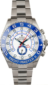 PreOwned Rolex Yacht-Master II Ref 116680 Blue Ceramic Bezel