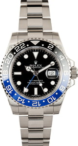 Used Rolex GMT-Master II Ref 116710B Ceramic 'Batman' Bezel