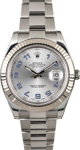 Rolex Datejust II Ref 116334 Luminous Arabic Dial