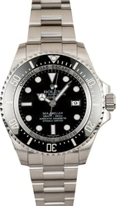 Pre Owned Ceramic Rolex Sea Dweller Deepsea 116660