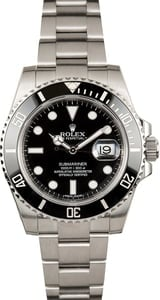 Rolex Submariner 116610LN Black Ceramic Timing Bezel