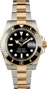 Rolex Submariner 116613LN Two Tone Oyster