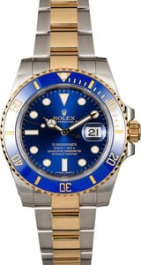 Rolex Submariner 116613 Two Tone Oyster Band