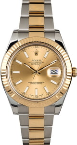 PreOwned Rolex Datejust II Ref 116333 Champagne Index Dial