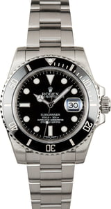 PreOwned Rolex Submariner 116610LN Stainless Steel