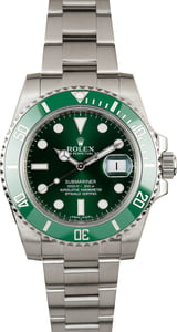 Pre-Owned Rolex Submariner 116610LV Green Ceramic 'Hulk' Bezel