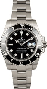 Used Rolex Submariner 116610 Steel Oyster Band