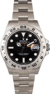 Unworn Rolex Explorer II Ref 216570 Black Luminous Dial