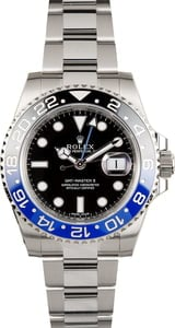 Used Rolex GMT-Master II Ref 116710 'Batman' Black and Blue Ceramic Bezel