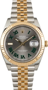 Unworn Rolex Datejust 41 Ref 126333 Two Tone Jubilee