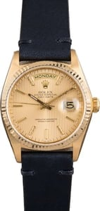 Rolex President Day-Date 18038 Gold Tapestry