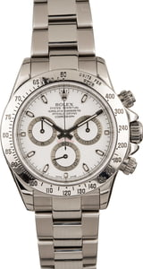Pre-Owned Rolex Daytona 116520 White Dial Cosmograph 40MM