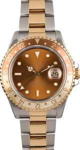 Pre Owned Rolex 'Root Beer' 16713 GMT-Master II