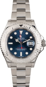 PreOwned Rolex Yacht-Master 116622 Platinum Dial