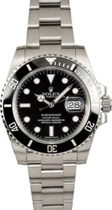 Pre Owned Rolex Submariner 116610 Ceramic Bezel