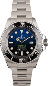 PreOwned Rolex DeepSea 126660 D-Blue Ceramic Model