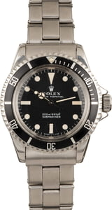 1967 Vintage Rolex Submariner 5513 Meters First