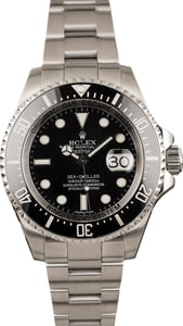 Pre Owned Rolex Sea Dweller Deepsea 116660 Ceramic Bezel