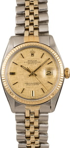 Rolex Stainless and Gold Datejust