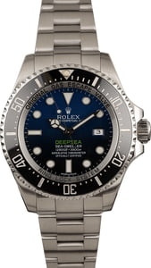 Rolex Deepsea Blue/Black 116660