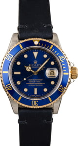 Rolex Two-Tone Submariner Blue