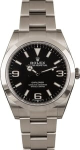 Rolex Explorer 214270 Stainless Steel Oyster Band