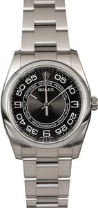 Pre Owned Rolex Oyster Perpetual 116000 Concentric Dial