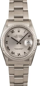 3503acee0cc 47 Certified Pre-Owned Rolex DateJust watches for Sale | Bob's Watches