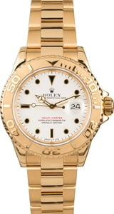 Pre-Owned Rolex Yachtmaster Yellow Gold 16628 White Gold