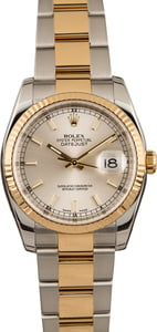 Pre-Owned Rolex Datejust 116233 Silver Luminous Dial