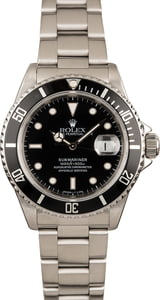 Used Rolex Submariner 16610 Oyster
