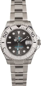 Pre Owned Rolex Yacht-Master 268622 Dark Rhodium Dial