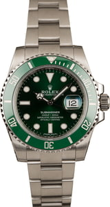 Rolex 116610V Green Anniversary Submariner