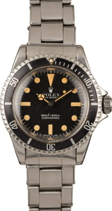 Vintage Rolex Submariner 5513 No Date