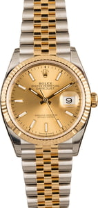 Unworn Rolex Datejust 126233 Champagne Luminous Dial