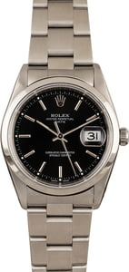 Used Rolex Date 15200 Black Dial