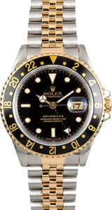 Used Rolex GMT-Master II 16713 Steel and Gold Jubilee