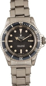 Vintage Rolex Submariner Watch Ref. 5513
