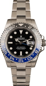 Used Rolex 116710 GMT-Master II Batman Model