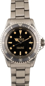 Rolex Submariner 5513 Glossy Gilt Dial