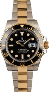 New Rolex Submariner 116613 Two Tone