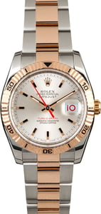 Pre-Owned Rolex Datejust 116261 Two Tone Everose