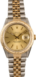 Used Rolex Datejust Two Tone Turn-O-Graph 16263