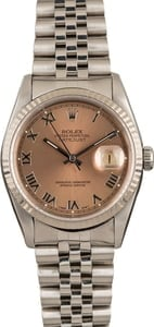 Men's Rolex 16234 Oyster Perpetual DateJust Steel