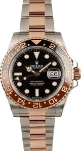 Unworn Rolex GMT-Master II Ref 126711 Two Tone Everose 'Root Beer'