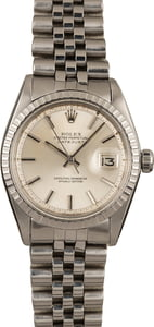 Vintage Rolex Datejust Stainless Steel 1603 'Pie Pan' Dial