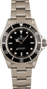 Used Rolex No Date Submariner 14060M Steel Oyster