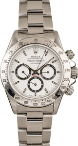 Used Rolex Daytona 16520 White Dial