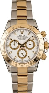 Rolex Daytona Two Tone Gold and Steel